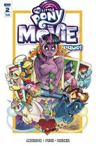 MLP The Movie Prequel issue 2 cover A