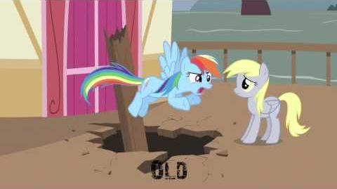 My Little Pony- Friendship is Magic- The Last Roundup - Derpy Scene Comparison