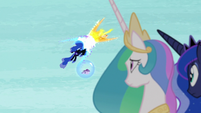 Nightmare Moon and Daybreaker power struggle S7E10