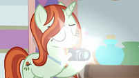 Photographer taking Starlight's picture S8E13