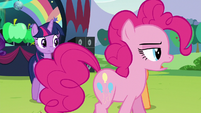 "Pinkie ""In fact, it was terribly difficult"" S5E24"