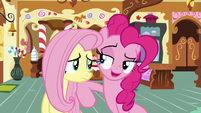 "Pinkie Pie ""nopony ever expects that!"" S8E2"
