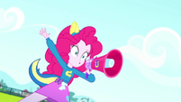 Pinkie Pie -when I say 'Blue', you say 'Goal'!- SS4