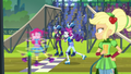 Pinkie and Rarity skate over the checkered line EG3.png