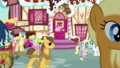 Ponies conversing outside Sugarcube Corner S5E19.png