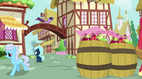 Pony Sci-Twi going over a bridge EGSB
