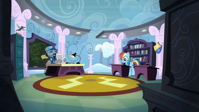 File:Rainbow Dash in the exam room S4E21.png