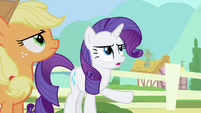 Rarity 'They mustn't be disturbed!' S4E11