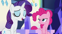 Rarity -somewhere that has modern conveniences- S6E12