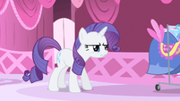 Rarity just missed her S1E20