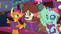 Smolder -this doesn't sound like compromising- S8E17