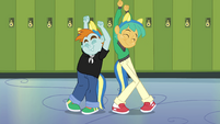 Snips and Snails dancing EG