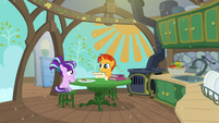 Sunburst and Starlight in a spotless kitchen S6E1