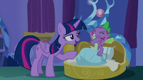 Twilight -you did spend yesterday with Rarity- S8E11