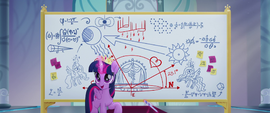 Twilight Sparkle addressing Cadance MLPTM