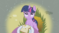 Twilight skeptical of Rainbow Dash S1E03