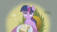Twilight skeptical of Rainbow Dash S1E03
