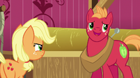 Young Big McIntosh dismissive of Applejack S6E23