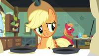 Applejack -somepony's feeling better- S5E4