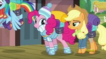 Applejack and Pinkie (S6E17)