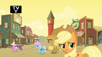 Applejack concerned about the ruckus S1E21