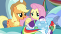 Applejack tries consoling Rainbow again S5E5.png