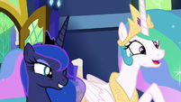 "Celestia ""adventure with friends!"" S9E13"
