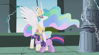 Celestia with Twilight S1E2