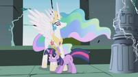 Celestia with Twilight S1E2