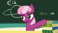 """Cheerilee """"animals just can't digest pony food"""" S7E23"""