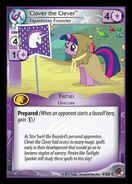 Clover the Clever, Equestrian Founder card MLP CCG