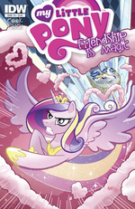 Comic issue 3 Hot Topic cover