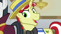Flim being sly -really-- S8E16