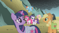 Fluttershy apologizing to her friends S1E07.png