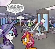 Friends Forever issue 13 Manehattan boutique