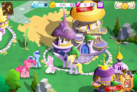 Gameloft Canterlot ponies