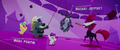 Grubber and Fizzlepop and baby Hippogriffs with a Storm King piñata (film version) MLPTM.png