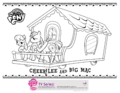 Hubworld.com Cheerilee and Big Mac coloring page.png