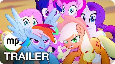 MY LITTLE PONY DER FILM Trailer German Deutsch (2017)