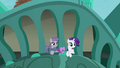 Maud Pie and Rarity hears Pinkie S6E3.png