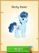Party Favor MLP Gameloft