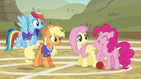Pinkie Pie --works for me!-- S6E18