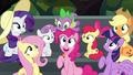 Pinkie Pie pops up from under Spike S6E7.png