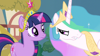 Princess Celestia just in case S3E10