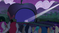 Princess Twilight walks onto the stage S5E24