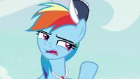 "Rainbow ""at least a sportier pony"" S9E6"