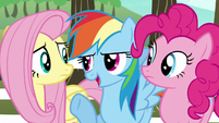 "Rainbow Dash ""obviously"" S6E18"