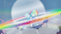 Rainbow Dash rock rainboom EG2