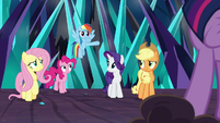 Rainbow Dash volunteering to help S9E2