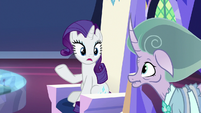 "Rarity ""called all of us to one place"" S7E26"